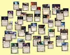 Star Wars X-Wing Miniatures Upgrade Cards: Crew, Missiles, Astromechs, Titles