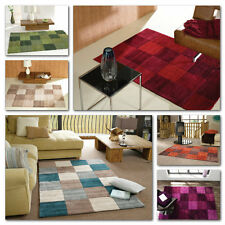 Modern Soft Stylish Affordable Polyester Rugs Quality Squared Dining Room Mats