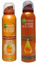 GARNIER AMBRE SOLAIRE TAN NATURAL BRONZER SELF-TANNING SPRAY LIGHT MED INTENSE