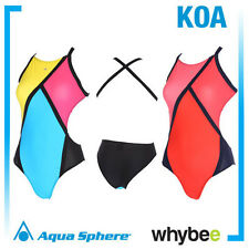 AQUA SPHERE KOA LADIES SWIMWEAR WOMENS SWIMMING COSTUME SWIMSUIT ALL SIZES! NEW!