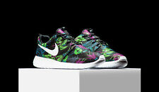 Nike Roshe Run Print 'SMOKY LOTUS' Floral Green Palm Tree  655206-510 Rosherun