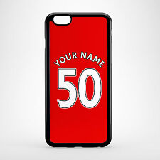 Personalised Liverpool LFC The Reds Home Shirt Name & Number Phone Cover Case