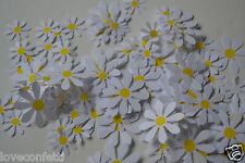 WHITE DAISIES  Confetti quality paper for Table decor  Wedding, Spring, Easter