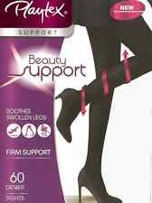 Playtex Beauty Support 60 Denier Firm Support Opaque Tights For Legs Black BNIB