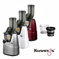 Kuvings Whole Slow Juicer B6000 Entsafter Rot Silber Weiß DHL EXPRESS