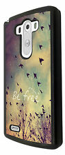 Cool Be Free Quote Birds Sky and Clouds Cute Design LG G3 /LG G2 Case Back Cover