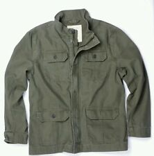 Mens AEO Military Shirt Jacket M MT L XL Olive American Eagle green