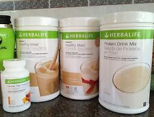 Herbalife Formula 1 Shake,Flavored Protein Drink Mix, Herbal Tea Combo FREE SHIP