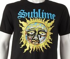 Sublime Mens Black TShirt 40oz to Freedom Skunk Records Date Rape What I Got NEW