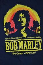 Bob Marley Roots Rock Reggae Rastaman Vibration Jamaica Zion Licensed T-Shirt