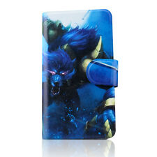 terrorist bloody Wolf people PU Leather Flip Case Cover For Samsung Galaxy 07