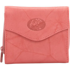 Buxton Heiress Leather Zip Purse 7 Colors Ladies Small Wallet NEW