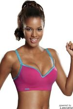 HIS Women's Padded Sports Bra with Underwire Low Impact OV 8013 in Div Colours