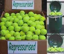 """Used Tennis Balls """"REPRESSURISED"""" 12 15 20 25 30 50 For All Ball Games / Dog Toy"""