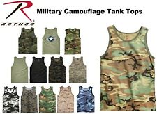 Camouflage & Solids Tactical Military Top Army Camo Tank Top & Muscle Shirt #2