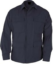 Midnite Navy Blue Tactical Military Police Poly/CotFatigue BDU Shirt 7952 #2