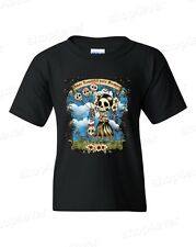 Amor Inmortal Para Siempre Youth's T-Shirt Day of Dead Shirts Dia de Muertos