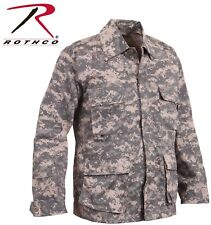Acu Digital Camouflage Military Tactical Poly/Cot Fatigue BDU Shirt 8695