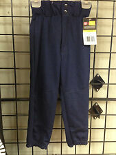 New Wilson adult or Youth NAVY Blue  Baseball Pants with Beltloops  NWT knickers
