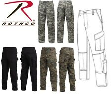 Black & Digital Camouflage Police Military Combat Tactical RipStop BDU Pants