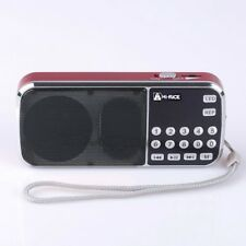 NEW Hi-Rice SD-101 Digital FM/AM radio USB TF Mp3 Player Speaker Gift For Parent