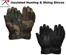 Black & Camouflage Military Thermoblock Tactical Insulated Hunting Gloves
