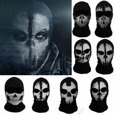 Call of Duty 10Ghosts Balaclava Face Mask Cosplay CS Hood Skateboard Cosplay COD