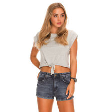 New Refuge Knitty 90's Shorts in Blue | Womens Shorts