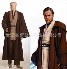 Star Wars Movie Jedi Knight Obi-Wan Kenobi Uniform Made Full Set Cosplay Costume
