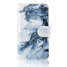 Chinese Wind Dragon Magnetic PU Leather Flip Case Cover For Lenovo Phone 09