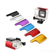 Colorful CNC Aluminum Lock Buckle for GoPro Hero 3+ Protective Case Special