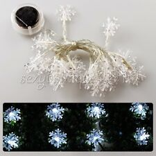 Home Christmas Tree Valentine's Day Decoration 20 LED Solar String Fairy Lights