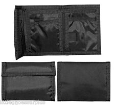 Black Military Army USMC Navy Tactical Tri-Fold Nylon Commando Wallet 10629 #1