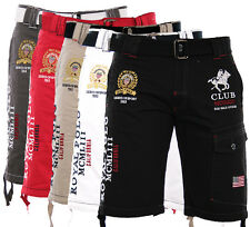 GEOGRAPHICAL NORWAY HERREN CARGO SHORT BERMUDA SHORTS KURZE HOSE POLO CLUB