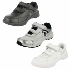 Boys Clarks Trainers with Double Velcro Fastening - Alert