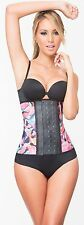 Fajas Colombiana Pink Latex Waist Trainer Corset Workout Sport Training Girdle