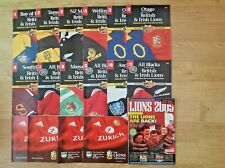 British Lions Tour to New Zealand 2005 Rugby Programmes