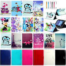 "Various Universal Leather Case Stand Cover For 7"" 7.7"" 7.85"" Inch Tablet PC MID"