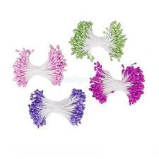 150pcs Pearl Head Double Tip Floral Stamens Multi-purpose Craft Supplies