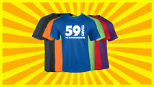 59th Birthday T Shirt Happy Birthday T-Shirt Funny 59 Years Old Tee 7 COLORS