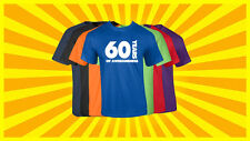 60th Birthday T Shirt Happy Birthday T-Shirt Funny 60 Years Old Tee 7 COLORS
