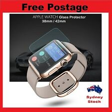 0.2mm 9H Real Tempered Glass Screen Protector LCD Film for Apple Watch 38mm/42mm