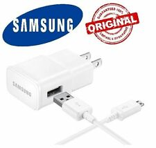 Original OEM 2.0 Amp Wall Charger Micro + USB Cable Samsung Galaxy S3 S4  Note