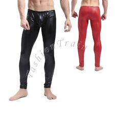 Hot Sexy Men's Stretch Long Johns Bulge Pouch Underwear Leggings Pants Trousers