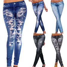 2015 Sexy Women Jean Skinny Jeggings Stretchy Slim Leggings Skinny Pants