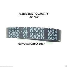 GENUINE ORECK VACUUM BELTS PART#  XL 0300 604 FOR ORECK UPRIGHT VACUUM CLEANERS