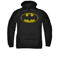 BATMAN LOGO Licensed Pullover Hooded Sweatshirt Hoodie SM-3XL