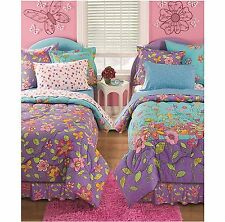 Colorful Bedding Set Reversible 2 Faces Complete Children Twin Full Size Kids