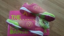 ZUMBA FLEX CLASSIC DANCE SHOES-NIB- SIZE 8.5 AND 9 FREE U.S. SHIPPING