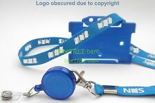 CHEAPEST NHS Personal Lanyard with optional Badge Reel & identity Card Holder